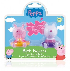 Peppa 2 figurki do kąpieli  blister 360082 p.12 TM TOYS